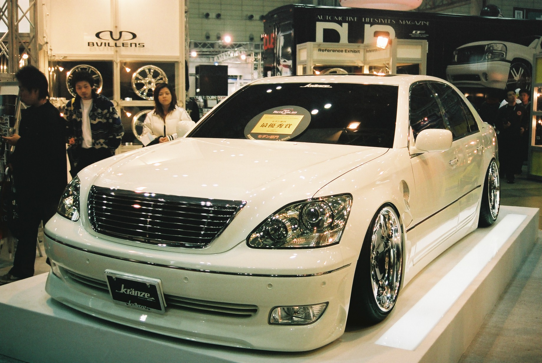 A wonderful VIP-styled Toyota